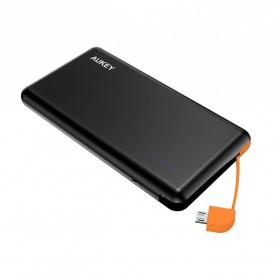 Aukey Power Bank Built-in Micro USB 8000mAh - PB-N38 - Black
