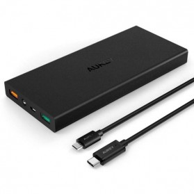 Aukey Power Bank 16000mAh 2 Port QC 2.0 - PB-Y2 - Black