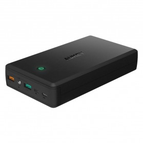 Aukey Power Bank 30000mAh 2 Port QC 3.0 - PB-T11 - Black