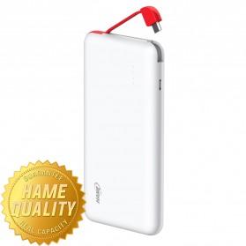 Hame T6 Power Bank 10000mAh - White