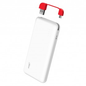 Hame T6 Power Bank 10000mAh - Red - 6