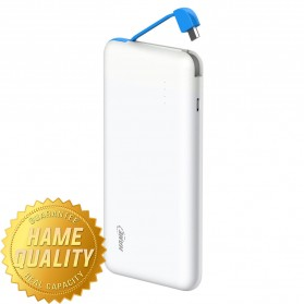 Hame T6 Power Bank 10000mAh - Blue