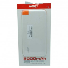 Hame T5 Power Bank 5000mAh - Blue - 6