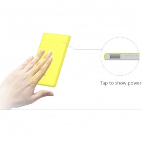 Hame X1 Power Bank 1 Port USB 4000mAh - White - 5
