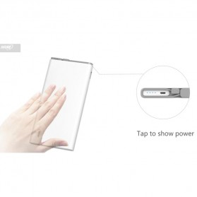 Hame QC1 Power Bank 2 Port 10000mAh Qualcomm Quick Charge 2.0 - White - 9