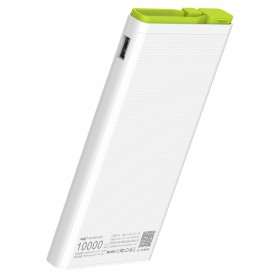 Hame X2 Power Bank 2 Port USB 10000mAh - White - 5
