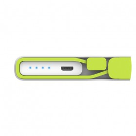 Hame X2 Power Bank 2 Port USB 10000mAh - White - 6