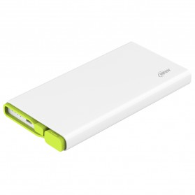 Hame X2 Power Bank 2 Port USB 10000mAh - White - 7