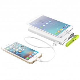 Hame X2 Power Bank 2 Port USB 10000mAh - White - 9