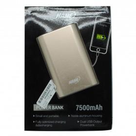 Hame H9D Power Bank 2 Port 7500mAh - Golden - 6