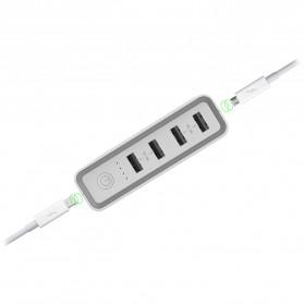 Hame H20 Power Bank 4 USB + 1 USB Type C 20000mAh - White - 3
