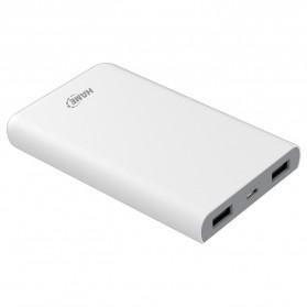 Hame X1P Power Bank 2 Port USB 8000mAh - White - 6