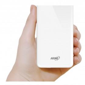 Hame X1P Power Bank 2 Port USB 8000mAh - White - 9