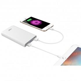 Hame X1P Power Bank 2 Port USB 8000mAh - White - 10