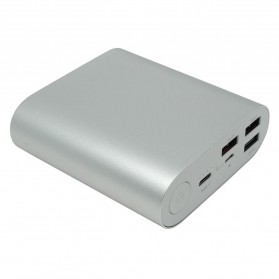 Powerbank - Hame H14D Power Bank QC 3.0 15000mAh - Silver