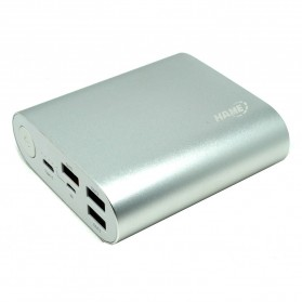 Hame H14D Power Bank QC 3.0 15000mAh - Silver - 3
