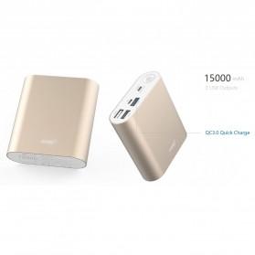 Hame H14D Power Bank QC 3.0 15000mAh - Silver - 6