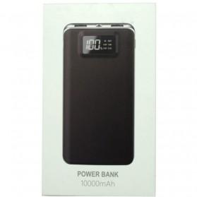 Hame P45 Power Bank 2 Port 10000mAh - Black - 8