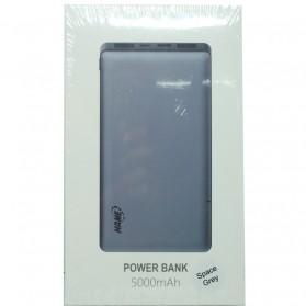 Hame P49C USB Type C Power Bank 2 Port 5000mAh - Gray - 7