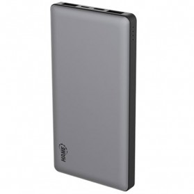 Hame P50C USB Type C Power Bank 2 Port 10000mAh - Space Gray - 3