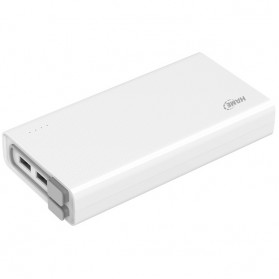 Hame QC2 Power Bank 3 Port 20000mAh QC3.0 - White - 1