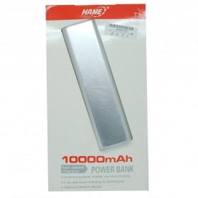 Hame T3 Power Bank 10000mAh - Silver - 4