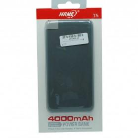 Hame T5R Power Bank 4000mAh - Gray - 8