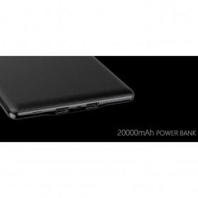 Hame P20 Power Bank 2 Port 20000mAh - Black - 5