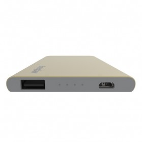 Hame Power Bank 1 Port USB 4000mAh - UE4002 - Golden - 4