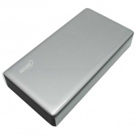 Hame P57D USB Type C Power Bank 2 Port 20000mAh - Gray Silver