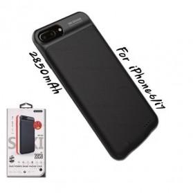 WK Saki Power Bank 2850mAh for iPhone 6/7 - WP-029 - Black - 4