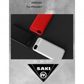 WK Saki Power Bank 2850mAh for iPhone 6/7 - WP-029 - Black - 7