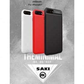 WK Saki Power Bank 2850mAh for iPhone 6/7 - WP-029 - Black - 8