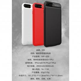 WK Saki Power Bank 2850mAh for iPhone 6/7 - WP-029 - Black - 9
