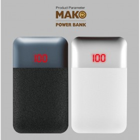 WK MAK Power Bank Dual Port 10000mAh - WP-019 - Black - 6