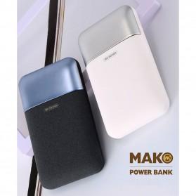 WK MAK Power Bank Dual Port 10000mAh - WP-019 - Black - 7