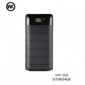 WK Bear Series Power Bank 20000mAh - WP-026 - Black