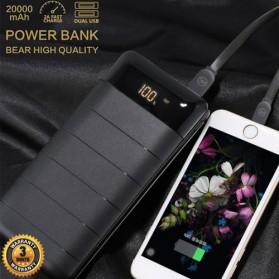 WK Bear Series Power Bank 20000mAh - WP-026 - Black - 2