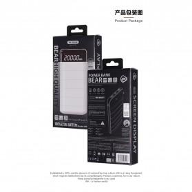 WK Bear Series Power Bank 20000mAh - WP-026 - Black - 4