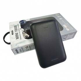 WK Mini Chai Series Power Bank 10000mAh - HP-069 - Black