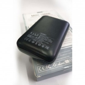 WK Mini Chai Series Power Bank 10000mAh - HP-069 - Black - 3