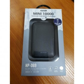 WK Mini Chai Series Power Bank 10000mAh - HP-069 - Black - 4