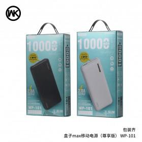 WK Power Bank 2 Input Port 10000mAh - WP-101 - Black - 3