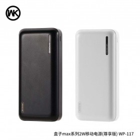 WK Herze Max Series Power Bank 2 Port 20000mAh - WP-117 - Black - 2
