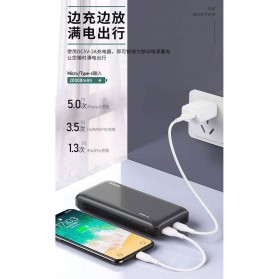 WK Herze Max Series Power Bank 2 Port 20000mAh - WP-117 - Black - 4
