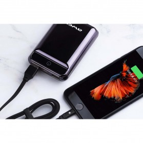 Awei Power Bank 2 Port 10000mAh - P54K - Black - 2