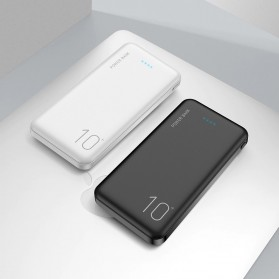 Floveme Power Bank Portable Charger 2 Port 10000mAh - FLD1864 - Black - 6