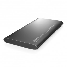 Vinsic Power Bank Ultra Slim Dual USB Port 12000mAh - Alien P11 - Gray