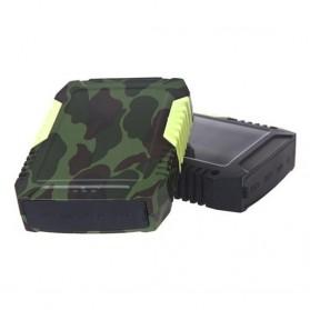 High Capacity Waterproof Power Bank 7800 mAh - Camouflage
