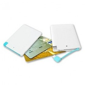 Credit Card Power Bank 3200mAh - 129032K - White - 3